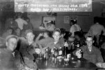 Jack Helms wasting beer on his utilities on liberty in Olongapo, Subic Bay, Philippines Christmas 1957