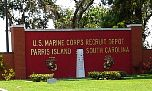 Parris Island Old Main Gate Sign